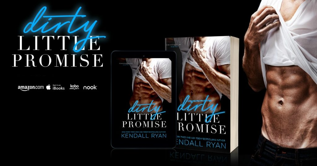 dirty little promise banner release feel the book