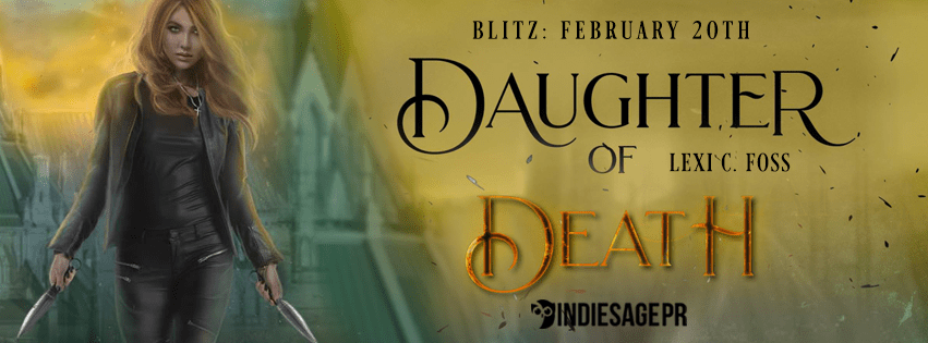 Daughter of Death banner release feel the book